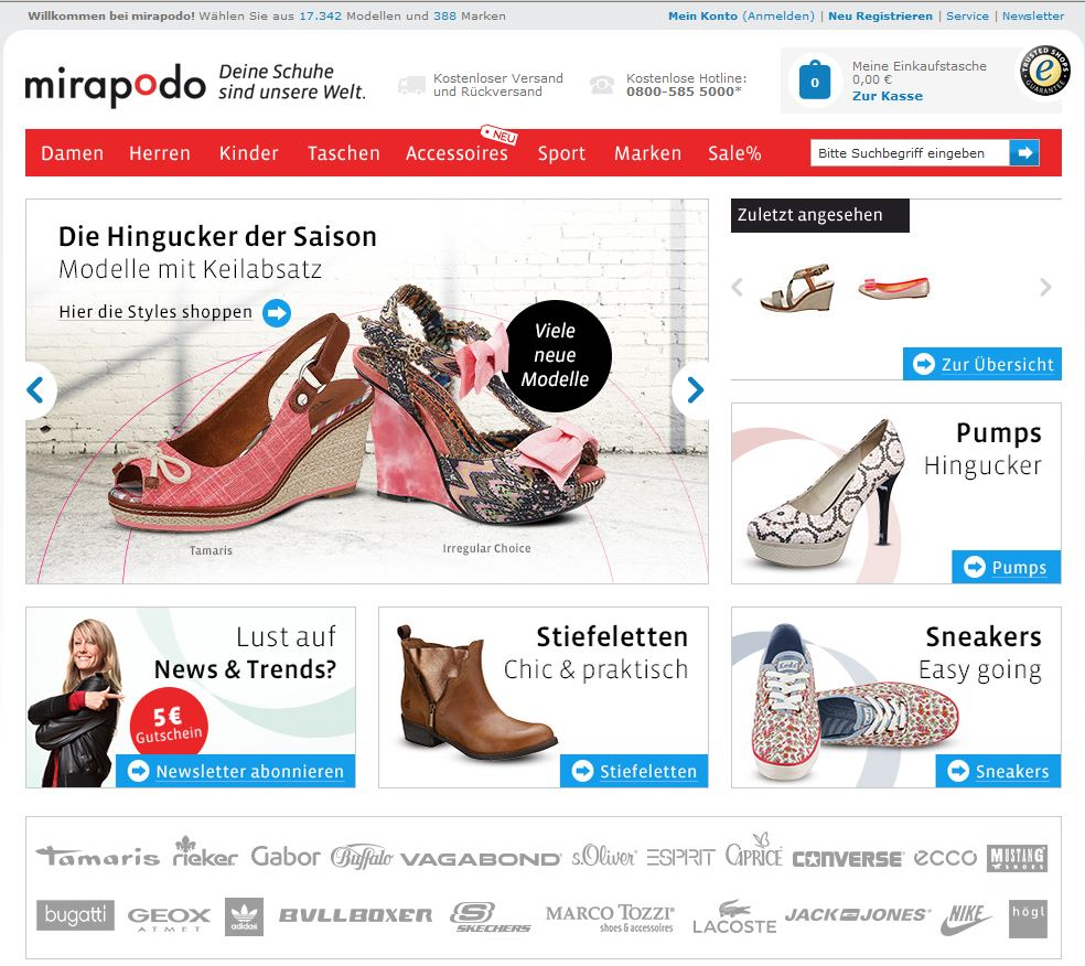 Fashion] Shopvorstellung: Mirapodo The Life of Dani TLjFJ