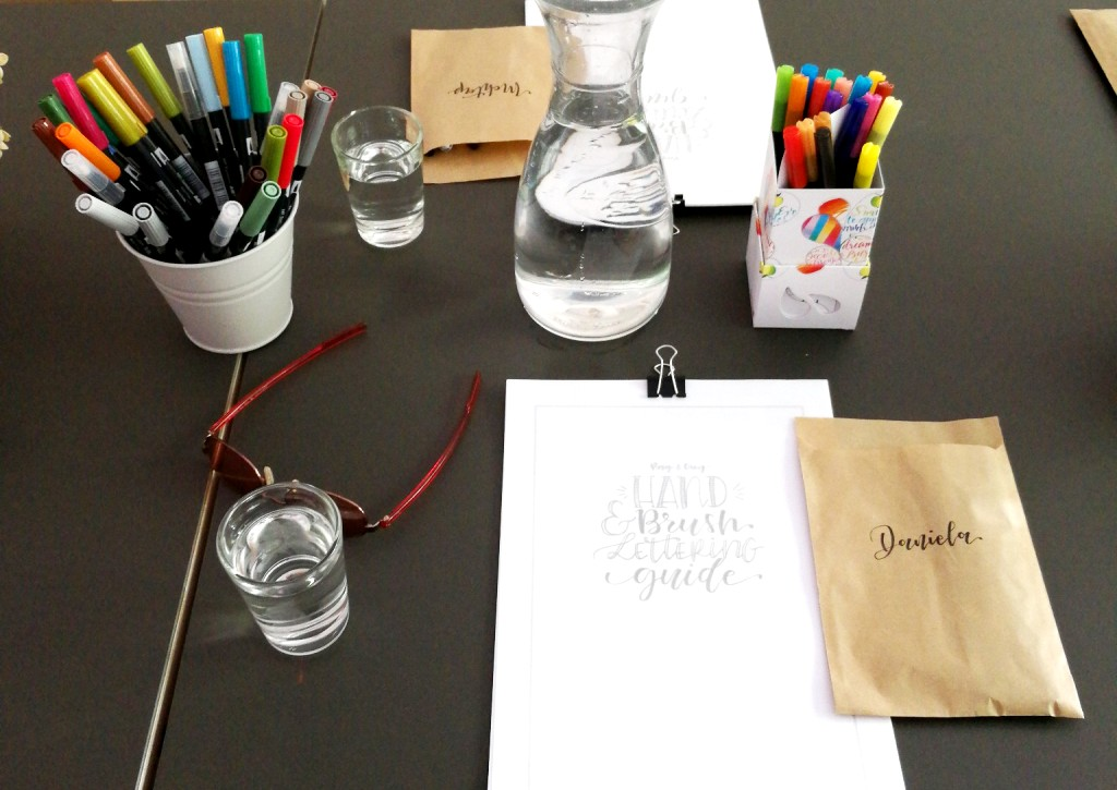 Hand & Brush Lettering Workshop